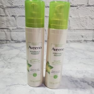Lot Of 2 Aveeno Hydrating Facial Cleanser